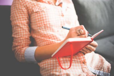 journaling can help caregivers avoid burnout