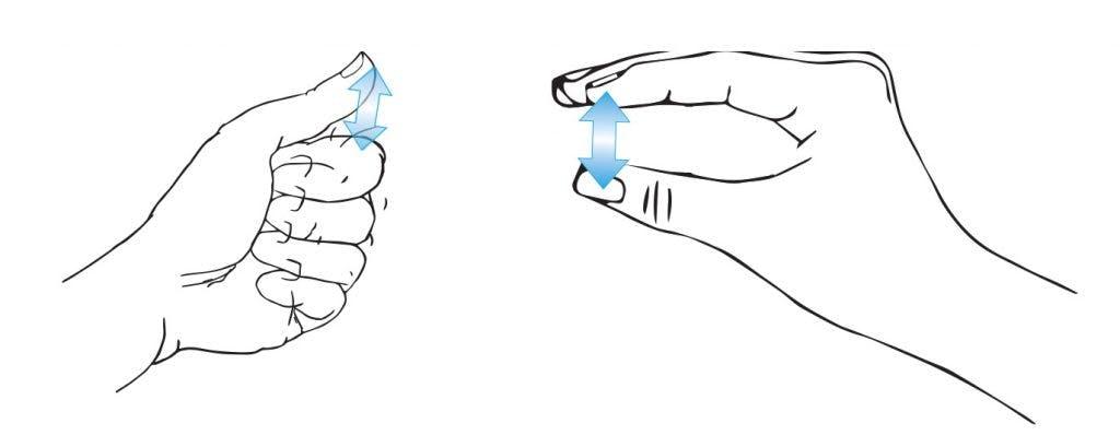 minimal-hand-movement