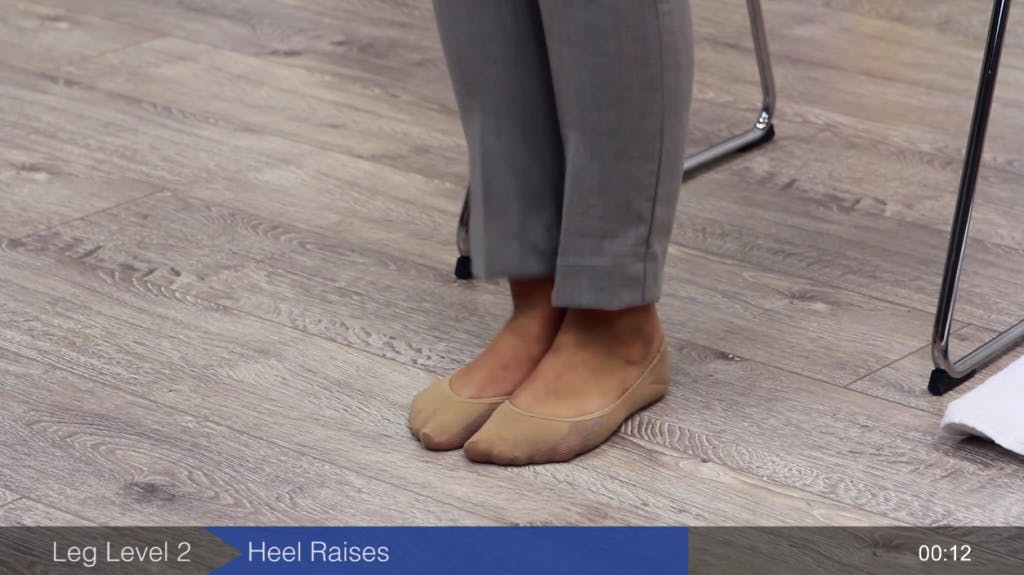 heel exercises to improve gait after stroke
