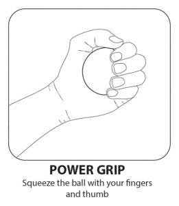 hand exercises with ball