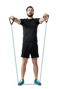 resistance bands tools for stroke recovery