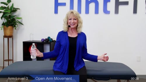 open arm movement exercises for stroke recovery