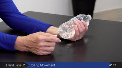 hand exercises using water bottle for stroke recovery