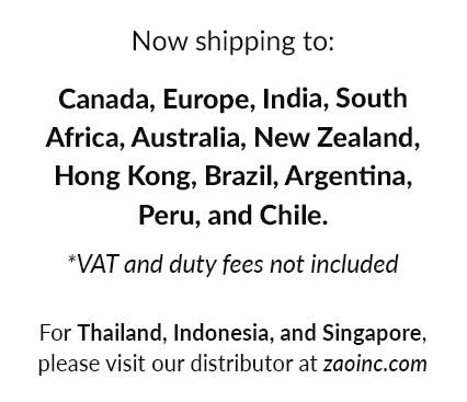 updated list of international countries for lightbox