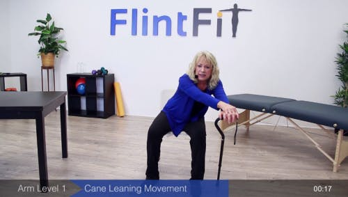 cane stretch for stroke recovery