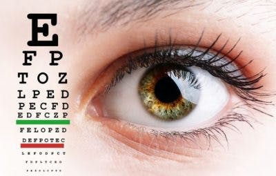 eye exercise chart that helps vision problems after occipital lobe stroke