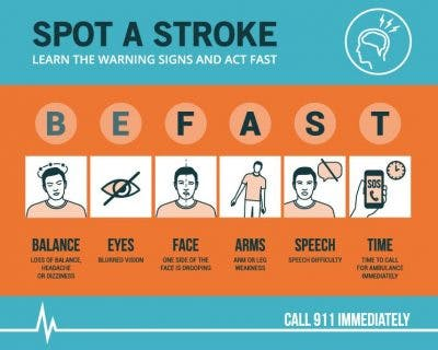 mini stroke recovery symptoms