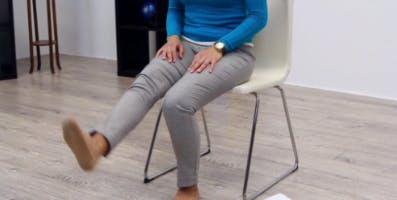 reduce leg spasticity with exercise