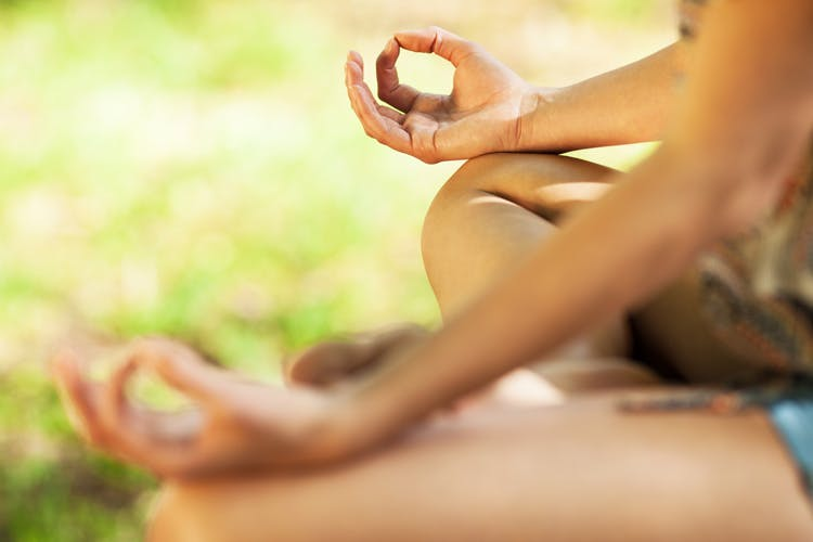 practicing meditation for stroke recovery