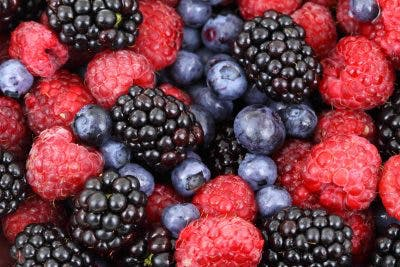 Berries are full of antioxidants for spinal cord injury recovery.