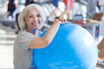 stability ball for stroke rehab