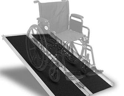 portable ramp for wheelchair users