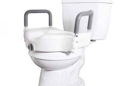 raised toilet seat bathroom modification for stroke patients