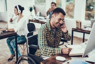 working with paraplegia