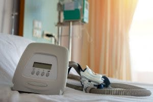 CPAP machine for sleep apnea after brain injury