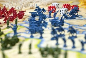 Risk is one of the most challenging games for brain injury patients