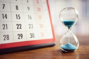 timer showing how long to wait until you're ready before returning to work after brain injury