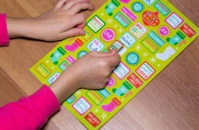 stickers cp fine motor activity