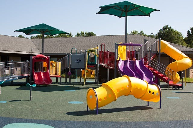 playground exercises for kids with cp
