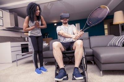 rehabilitative virtual reality for spinal cord injury