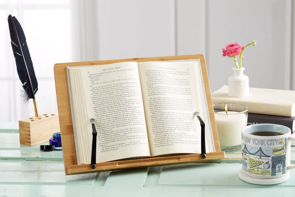 book holders are another great gift for brain injury
