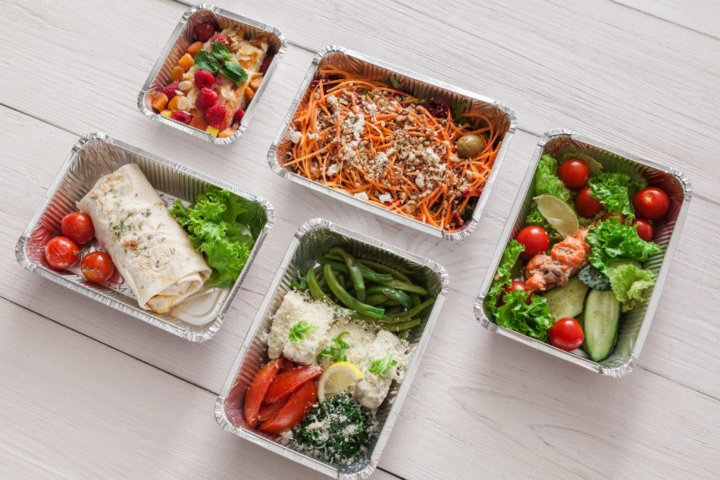 healthy meals in boxes