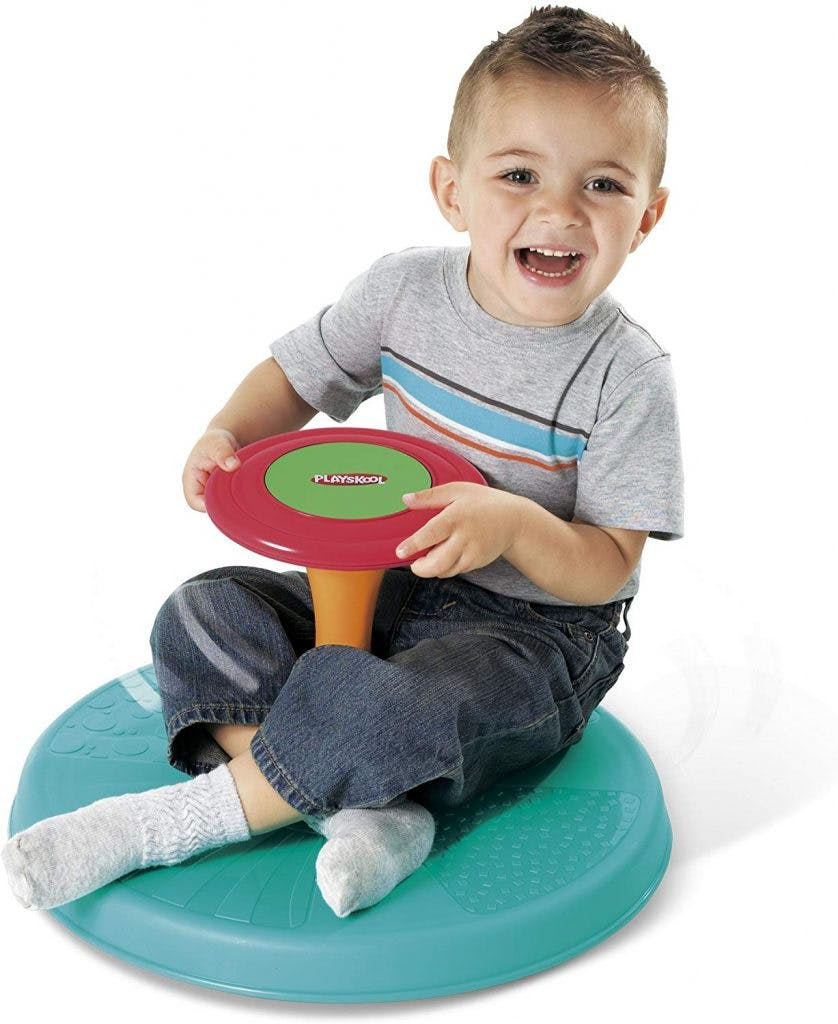 sit n spin toys for children with cerebral palsy
