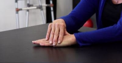 hand stroke physiotherapy exercises