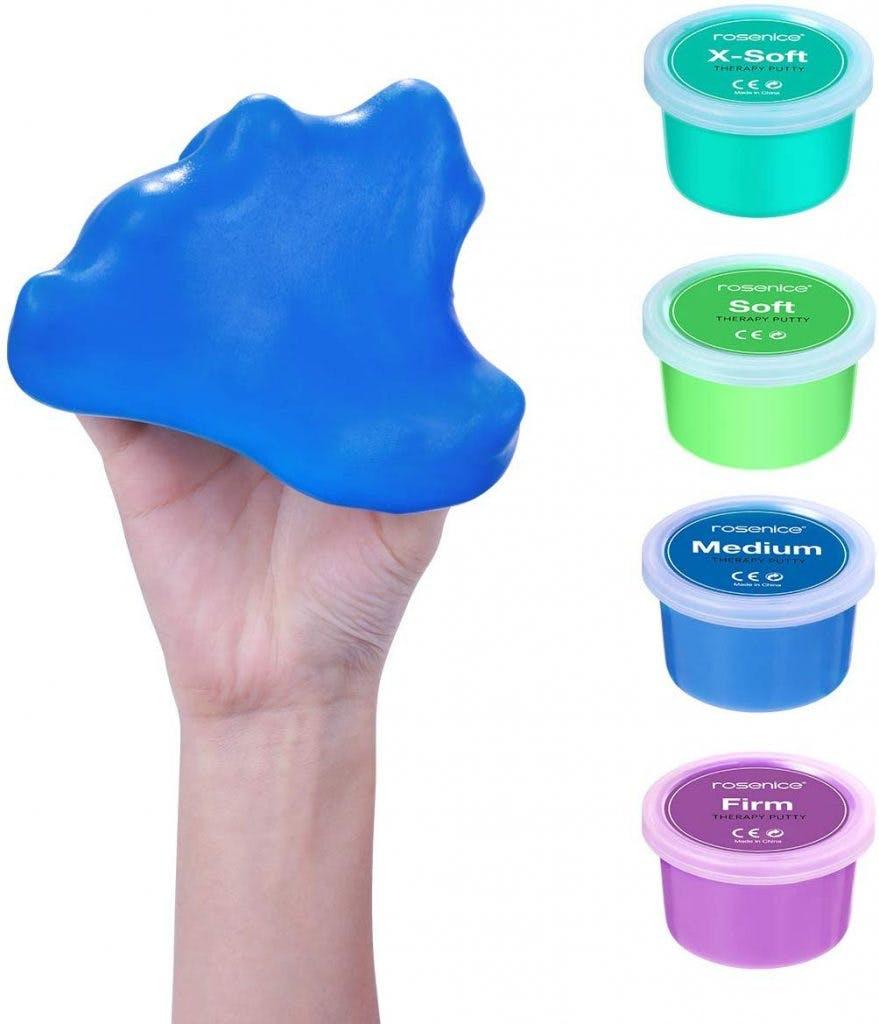 masilla terapéutica para manos