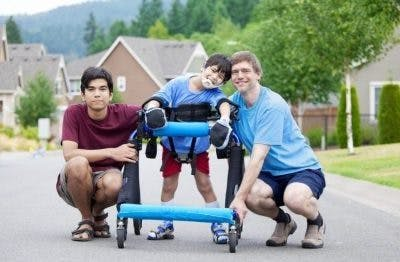 improve immune system in child with cerebral palsy with exercise