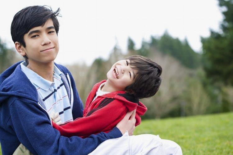 child with extrapyramidal cerebral palsy