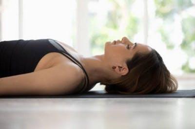 yoga mat stretches sci patient