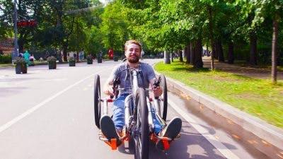 hand cycling fun things to do with a quadriplegic