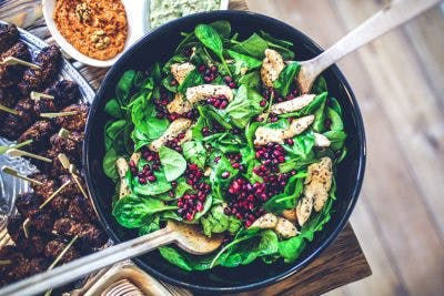 dark leafy greens to promote optimal health in individuals with cerebral palsy