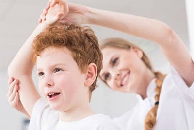 motivating children with cerebral palsy to stretch daily