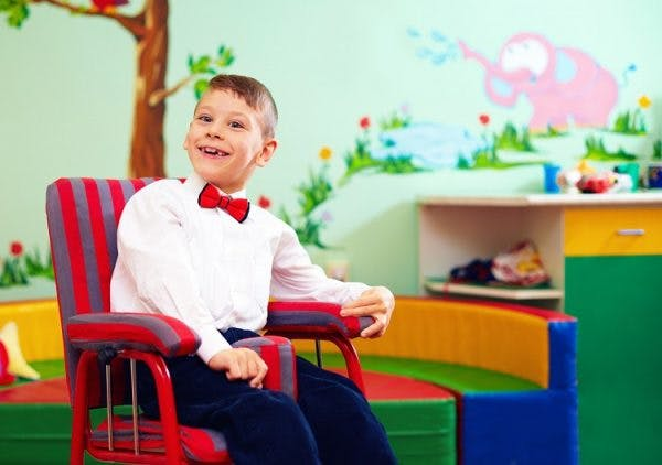 child with mixed cerebral palsy