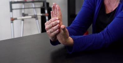 exercices à domicile pour les patients victimes d'un AVC