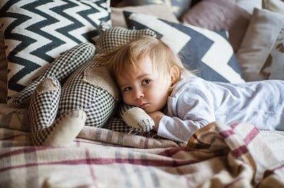 kid with cerebral palsy cannot sleep due to motor impairments