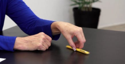 pen spinning cimt exercise for strengthening upper limbs