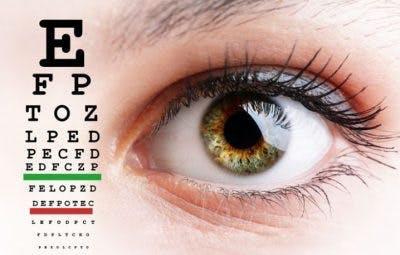 tableau d'exercice oculaire qui aide les problèmes de vision après un accident vasculaire cérébral du lobe occipital