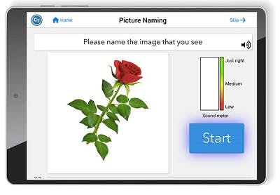 speech therapy app for facial motor impairments